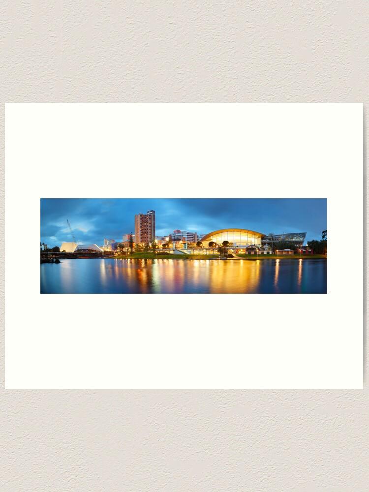 Alternate view of Adelaide, South Australia Art Print