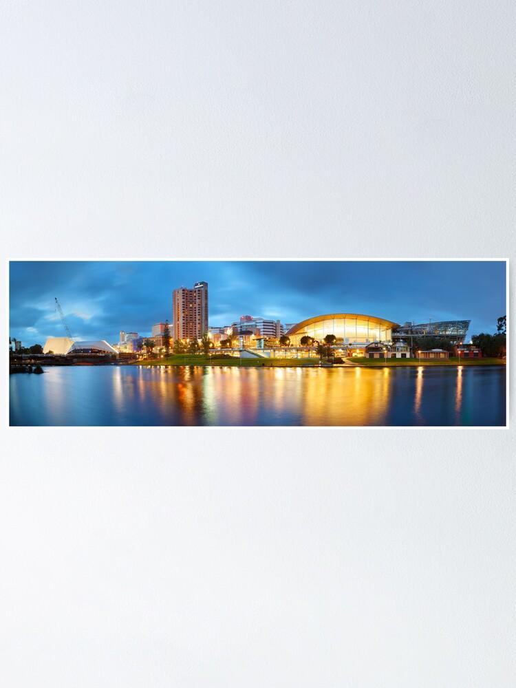 Alternate view of Adelaide, South Australia Poster