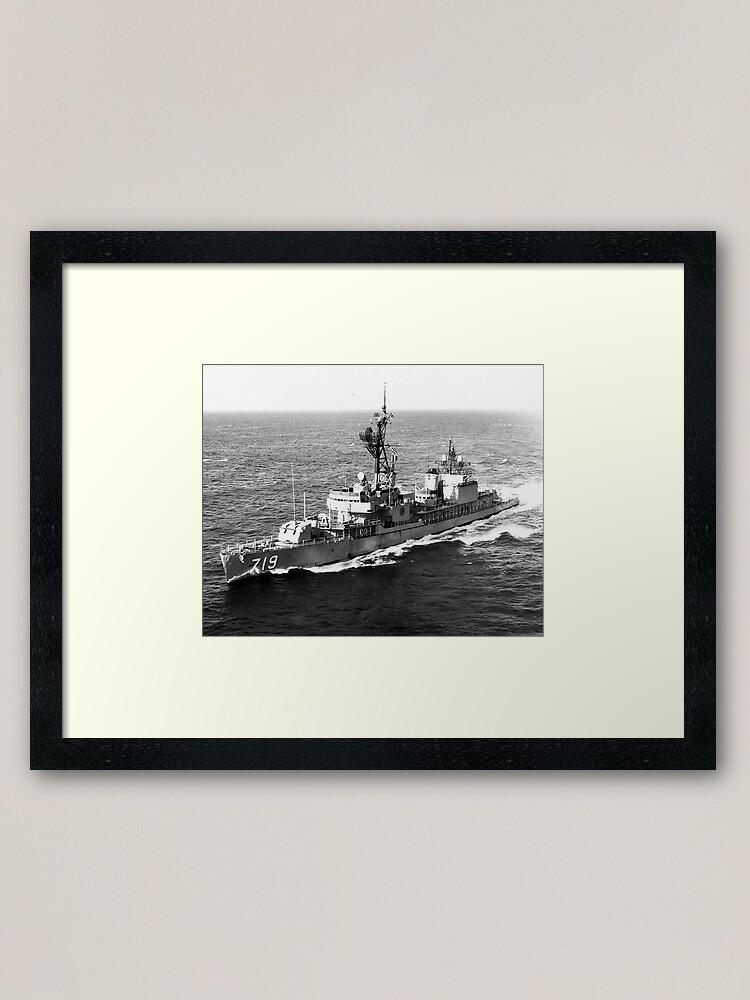Alternate view of USS EPPERSON (DD-719) SHIP'S STORE Framed Art Print