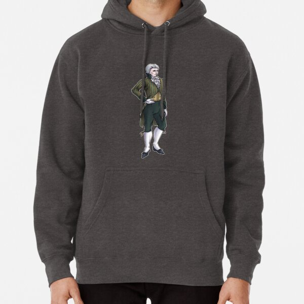 The Earl of Mooresholm - Regency Fashion Illustration Pullover Hoodie
