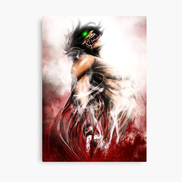 Attaque sur Titan Eren Impression sur toile