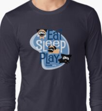 Eat, Sleep, Play! Long Sleeve T-Shirt