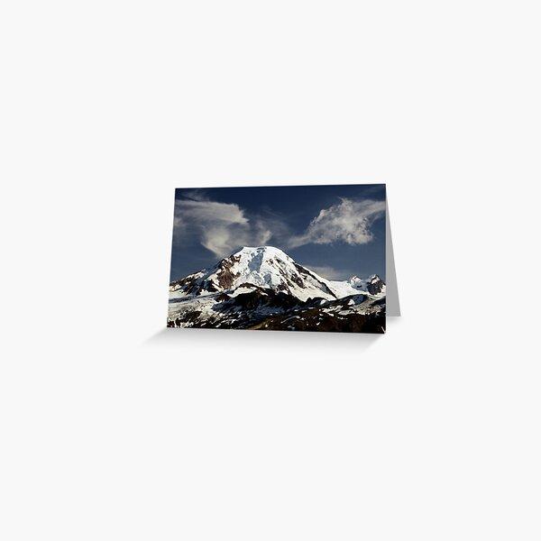 Mt Baker Greeting Card