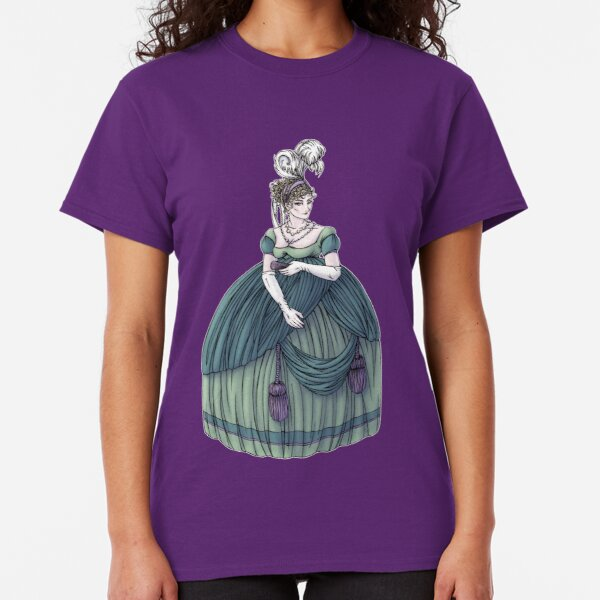 Viscountess Garvestone - Regency Fashion Illustration Classic T-Shirt
