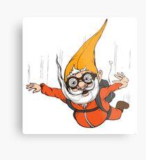 Extreme Sport Gnome Metal Print