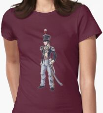 Captain Benjamin Shedfield - Regency Fashion Illustration Womens Fitted T-Shirt