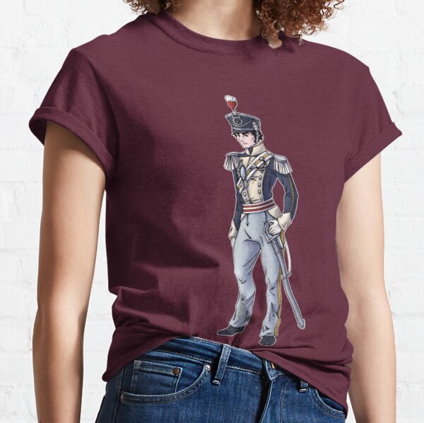 Captain Benjamin Shedfield - Regency Fashion Illustration Classic T-Shirt