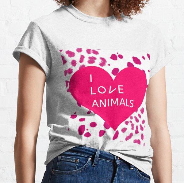 I Love Animals 1 Classic T-Shirt