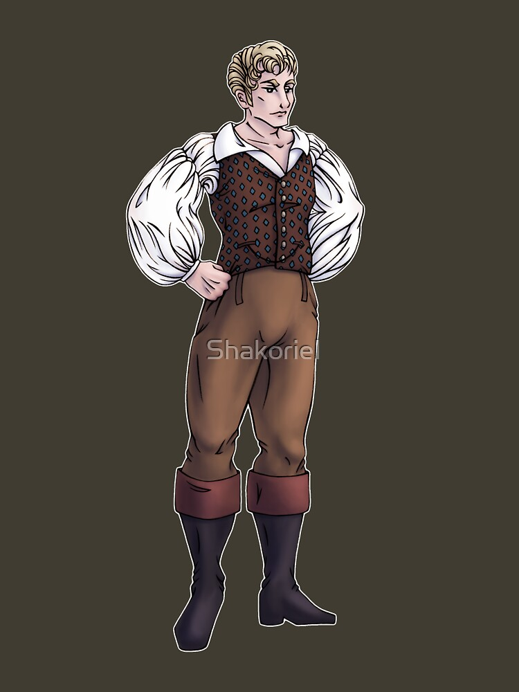 Lord Sebastian Bramdale - Regency Fashion Illustration by Shakoriel