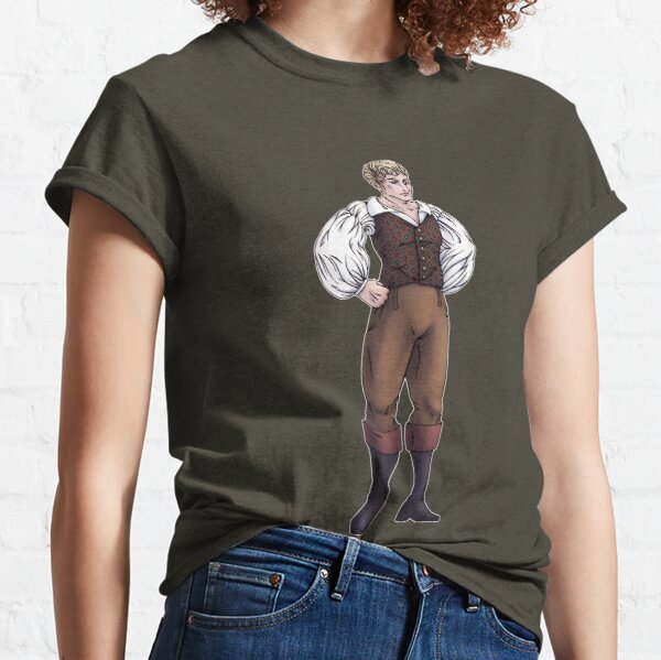 Lord Sebastian Bramdale - Regency Fashion Illustration Classic T-Shirt