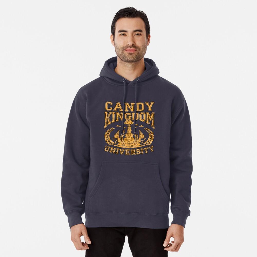 Universidad Candy Kingdom Sudadera con capucha
