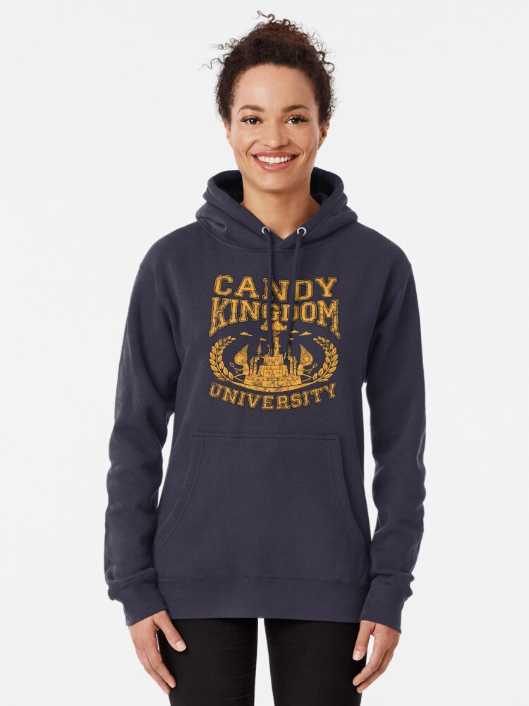 Vista alternativa de Sudadera con capucha Universidad Candy Kingdom