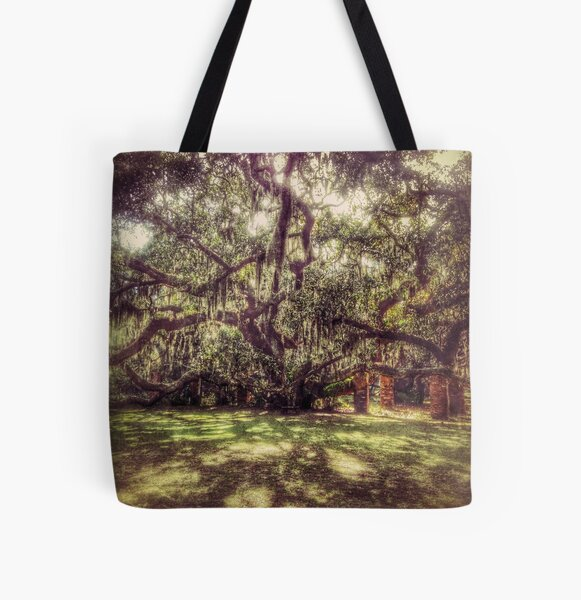 Greyfield Live Oak All Over Print Tote Bag