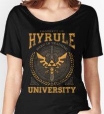 Hyrule University Women's Relaxed Fit T-Shirt