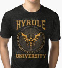 Camiseta de tejido mixto Hyrule University