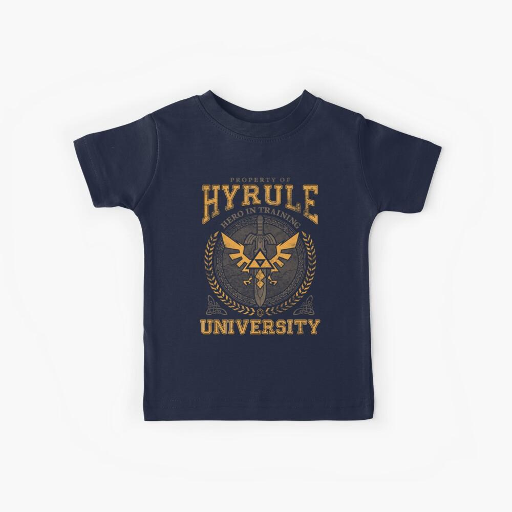 Hyrule University Camiseta para niños