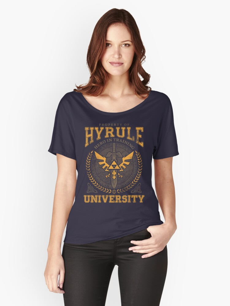 Hyrule University Women's Relaxed Fit T-Shirt Front