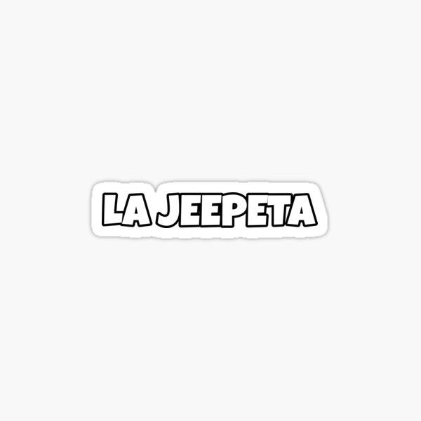 La Jeepeta Pegatina
