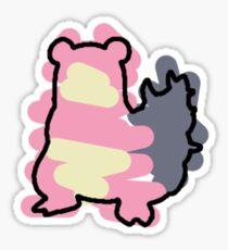 Slowbro Splotch Sticker