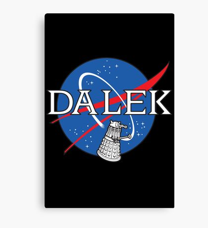Dalek Space Program Canvas Print