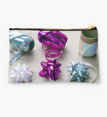 Gift Wrapping Ribbons and Bows Studio Pouch