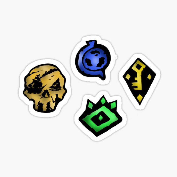 Pack d'autocollants Sea of Thieves Sticker