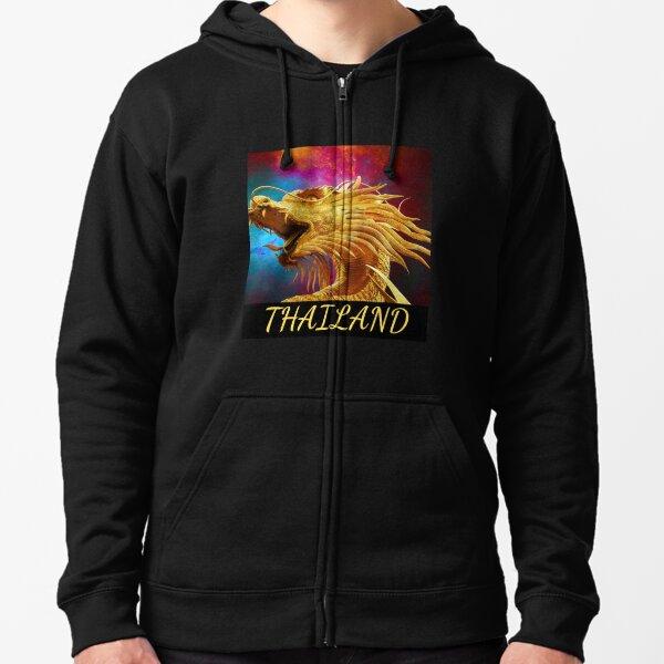 Dragon Thailand Veste zippée à capuche