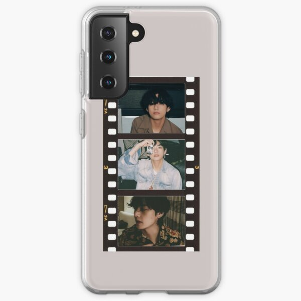 BTS Taehyung Film  Samsung Galaxy Soft Case