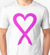 Cancer Pink Ribbon 01 Unisex T-Shirt