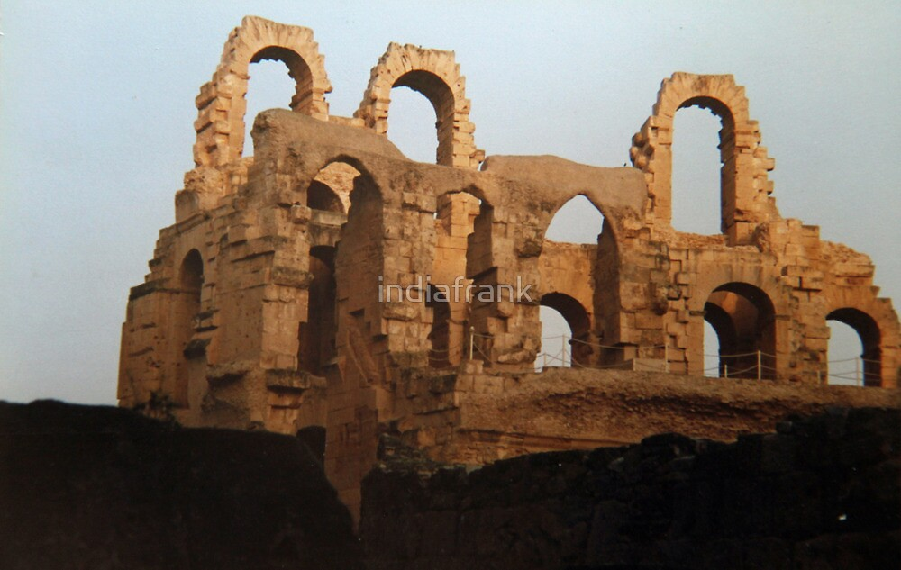 Roman ruins, El Jem, Tunisia by indiafrank