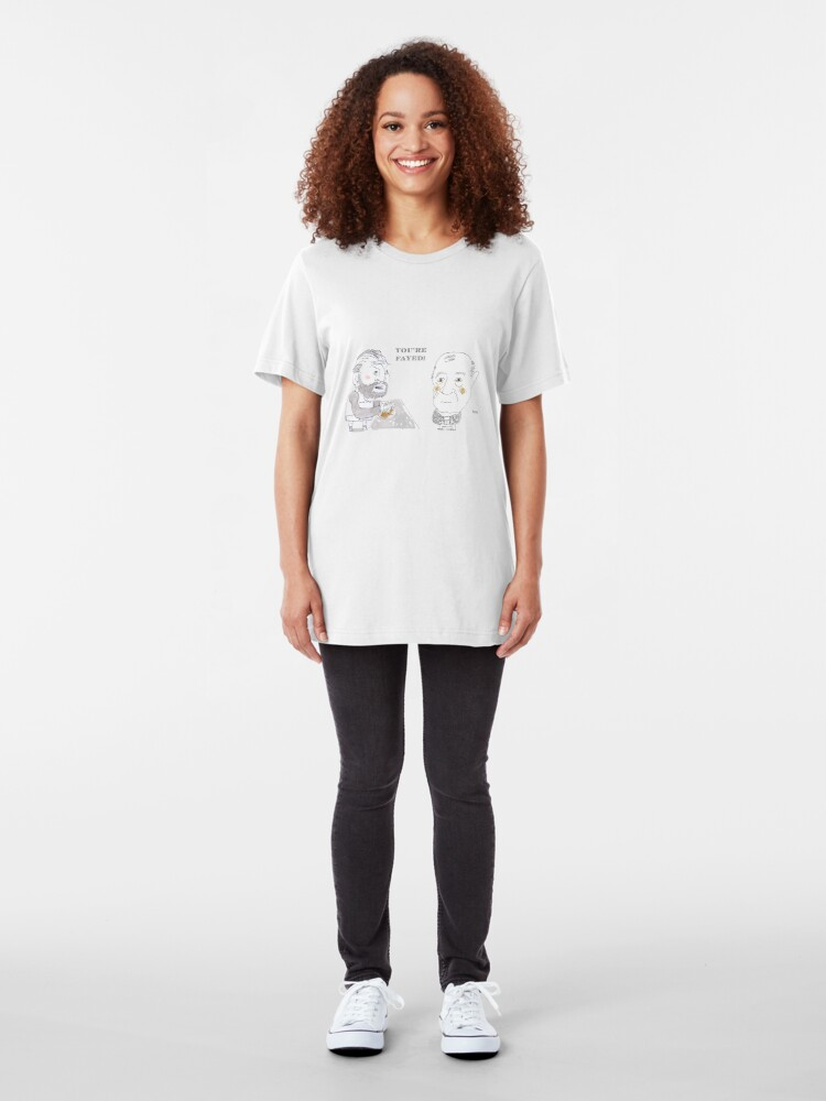Alternate view of You're Fayed Slim Fit T-Shirt