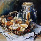 Mushrooms by Barbara Pommerenke