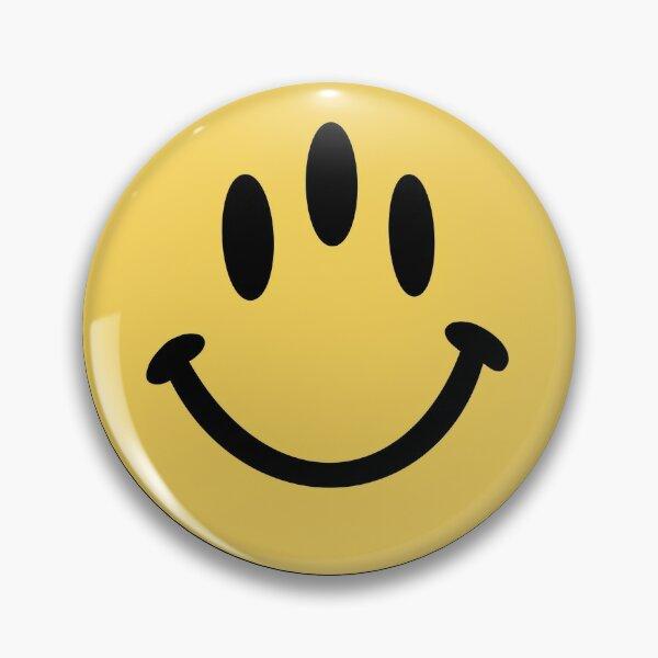 3-EYE GLOSSIER SMILEY Pin