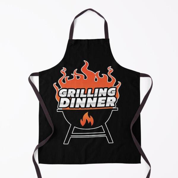 Grilling Dinner BBQ Apron