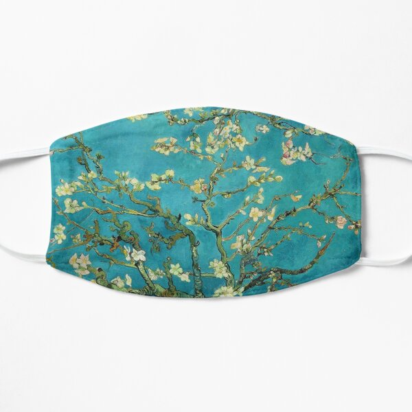 Vincent Van Gogh Blossoming Almond Tree Flat Mask