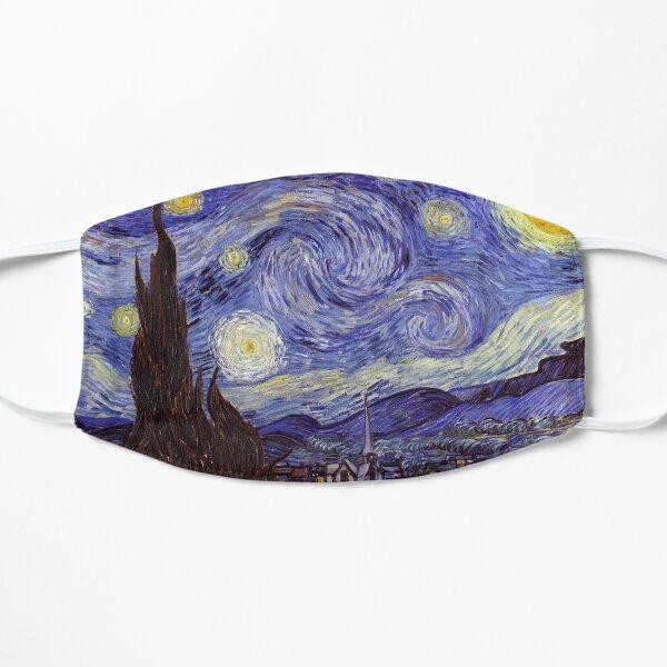 Vincent Van Gogh Starry Night Flat Mask