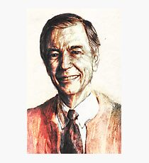 Mr. Rogers Photographic Print