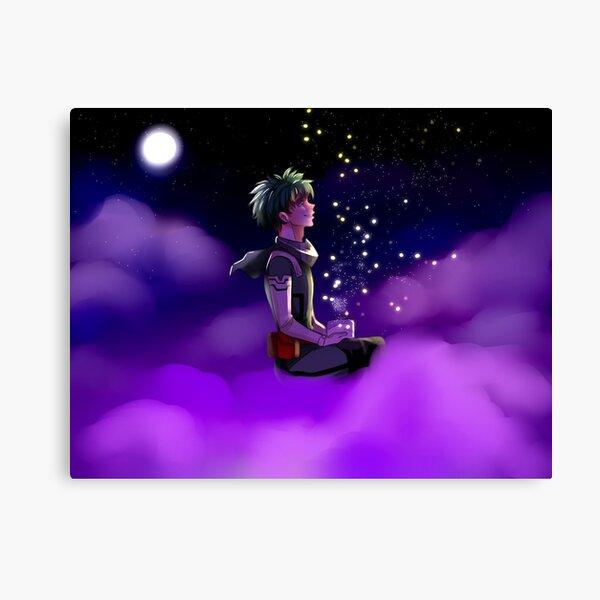 Deku With Fireflies Canvas Print