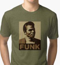 James Brown: FUNK Tri-blend T-Shirt