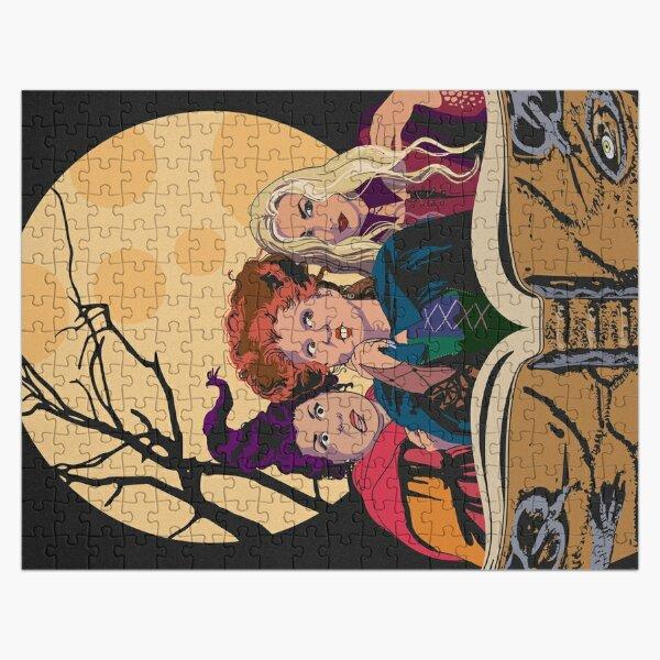Hocus Pocus Sanderson Sisters Jigsaw Puzzle