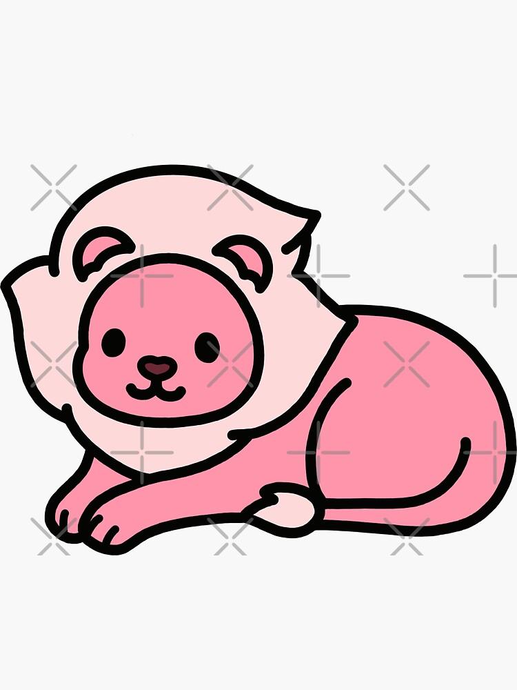 Steven Universe Lion by littlemandyart