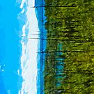 Yellowstone National Park Abstract Impressionism by pjwuebker