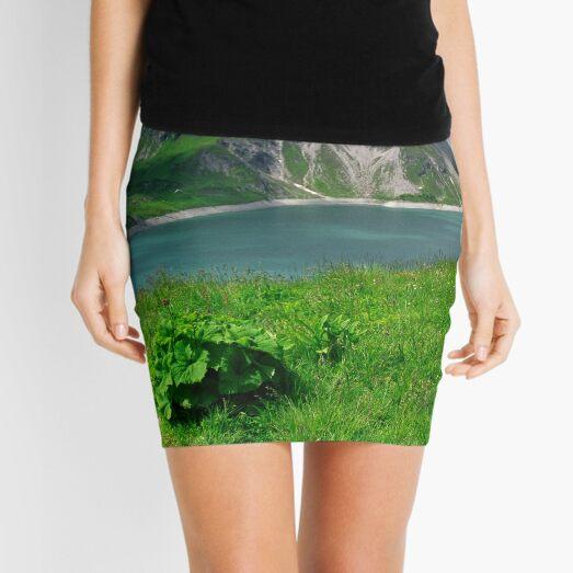 Lünersee, Austria Mini Skirt