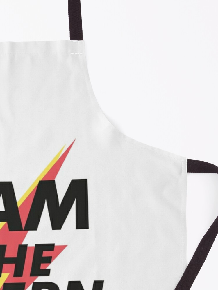 Alternate view of I Am The Guern Apron
