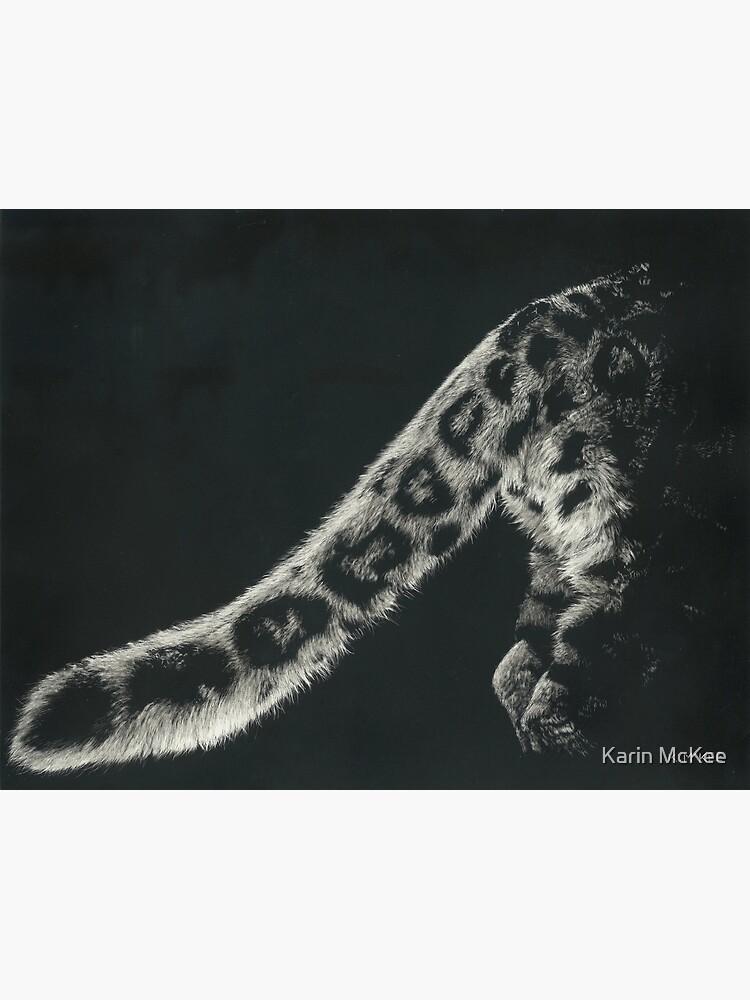Snow Leopard Tail by kjmckee