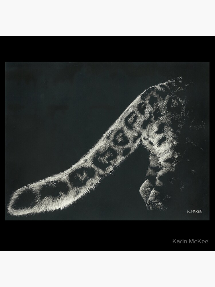 Snow Leopard Tail by kjmckee