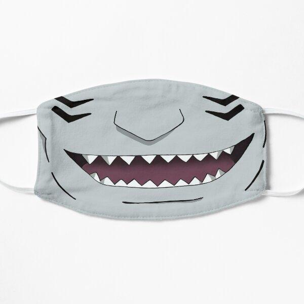 Ninja dientes de tiburón Mascarilla plana