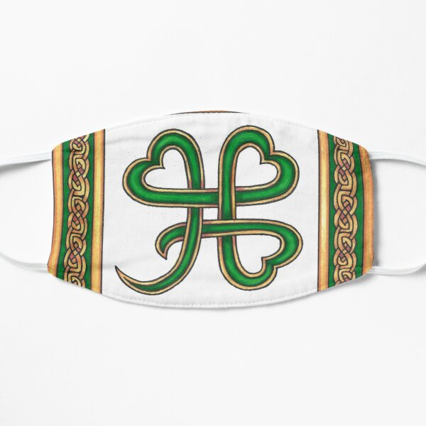 MODERN CELTIC SHAMROCK Small Mask
