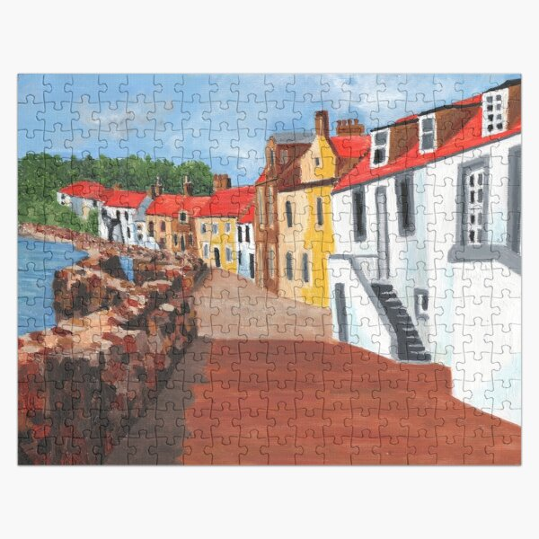 Pittenweem West Shore 6 Jigsaw Puzzle