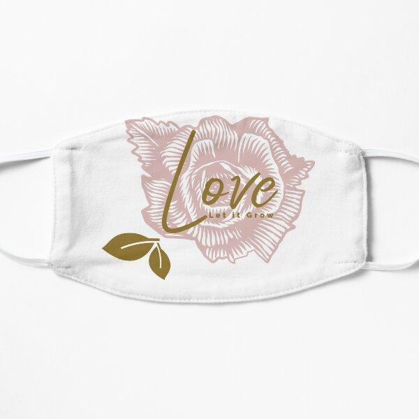 Love Let it Grown, Flower Garden Theme Mask
